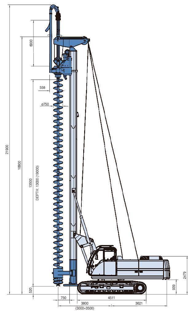 soilmec sr30 fow location foreuse cfa soilmec semloc. Black Bedroom Furniture Sets. Home Design Ideas